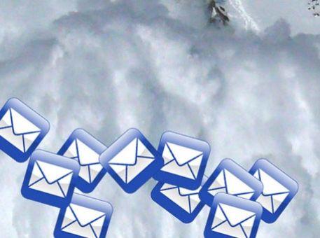 Survivre aux avalanches d'email