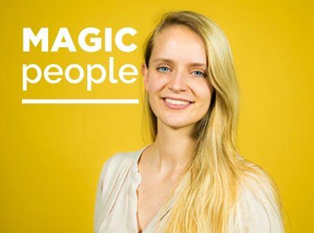 """Portrait de Violette, Happiness Manager chez StoryMe : """"Notre plus grand but est de rendre tout le monde heureux !"""""""