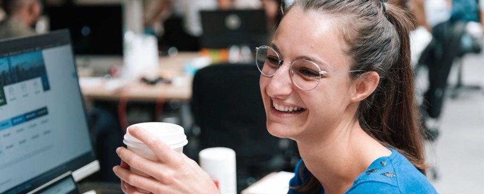 Le portrait de Ombline, Office & Happiness Manager chez Meero !