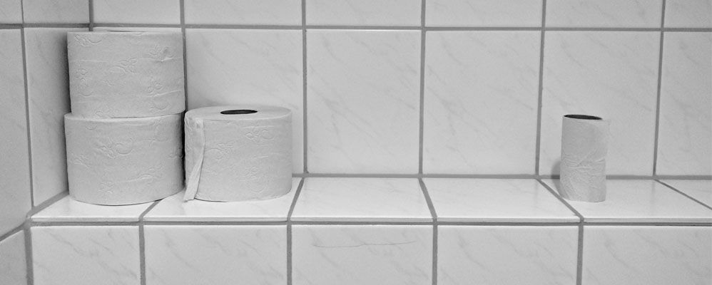 Par solidarité avec la possible pénurie de papier toilette !