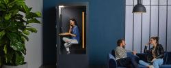 3 prestataires de cabines acoustiques, pour téléphoner au calme dans l'openspace